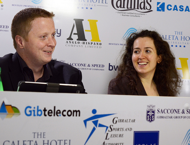 2013 Tradewise Gibraltar Chess Festival Live Commentary Room